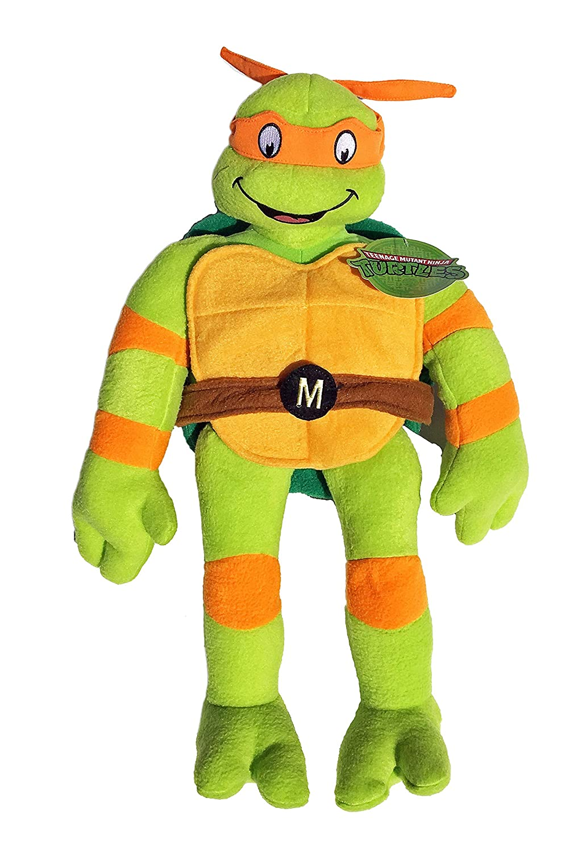 Amazon.com: Teenage Mutant Ninja Turtles Michelangelo Plush ...