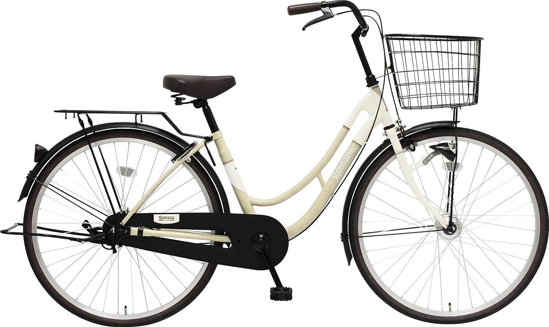 marukin(マルキン) 完全組立 26インチ自転車 LEDオートライト B077Y6QTG7ホワイト