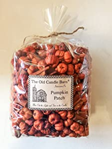 Old Candle Barn Pumpkin Patch Large Bag - Putka Pods Mini Pumpkins with Mini Cinnamon Sticks - Potpourri or Decoration - Made in The USA