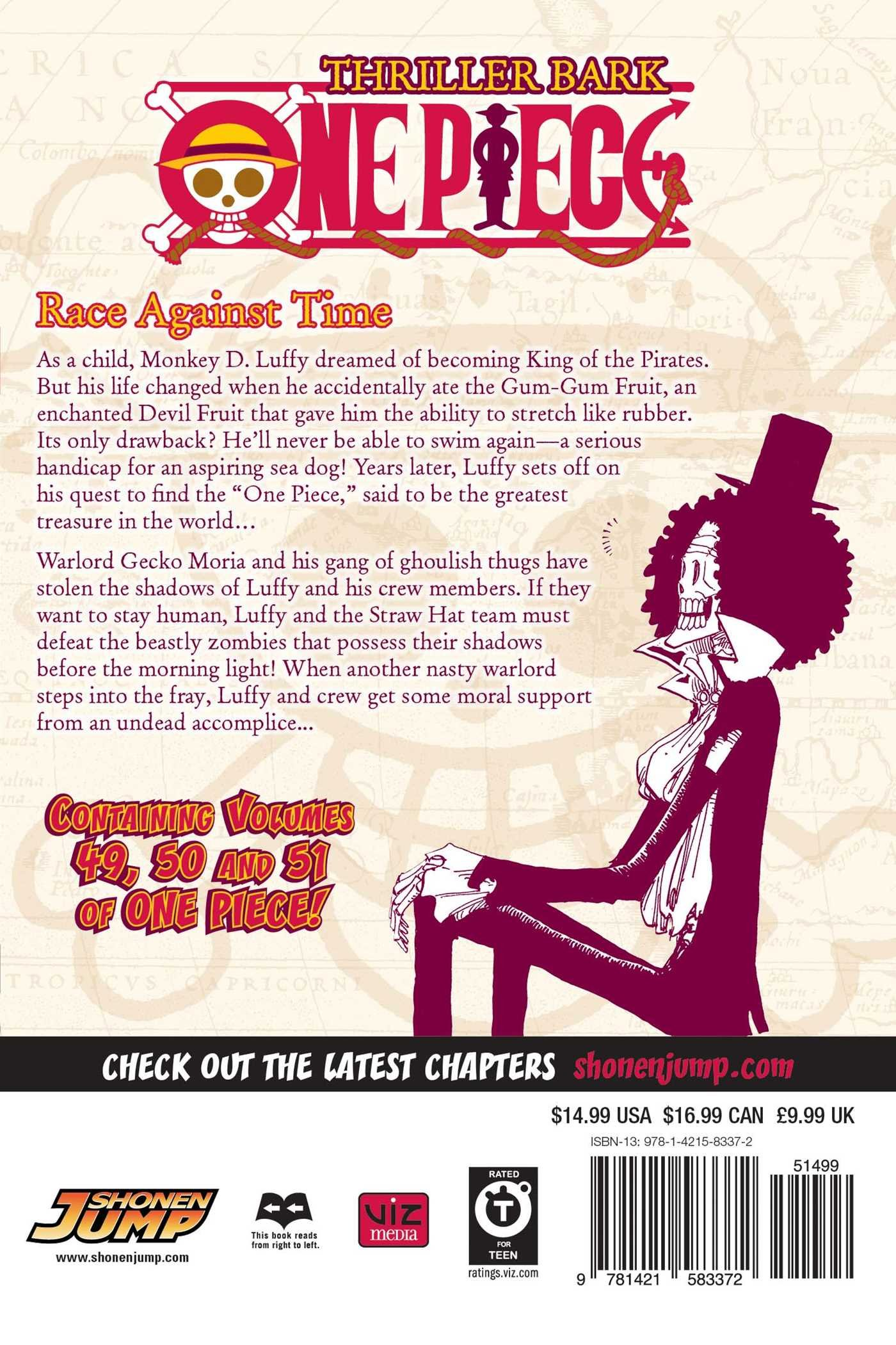 One Piece Omnibus Edition Volume 20 Includes vols. 20, 20 & 20 ...