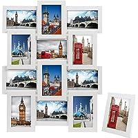 SONGMICS Cadre Photo Collage Photo Cadre Galerie Porte-Photos Family