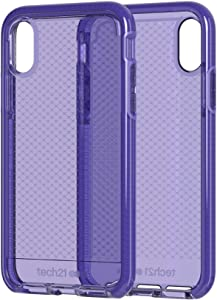 Tech21 Evo Check Phone Case for Apple iPhone X/Xs - Ultra Violet