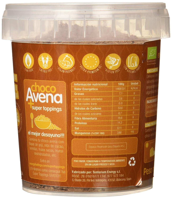 Energy Feelings Choco Avena Eco - 450 gr: Amazon.es: Salud y cuidado personal