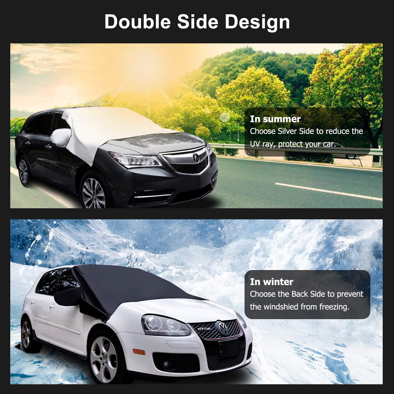 UV Rays Blocker Windshield Sun Shade Protector Blocks Heat /& Sun Keep Your Vehicle Cool Adoric Life Car Windshield Sun Shade Cover S