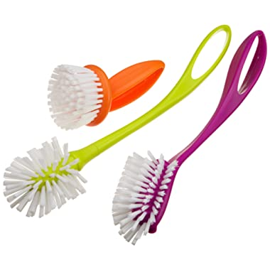Casabella Loop 3-Piece Dish Brush Set