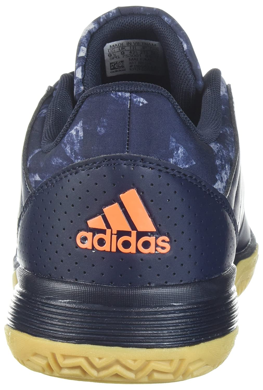 best service fe2f2 0aabd Calzado de voleibol Adidas Ligra 5 para hombre, Legend Ink   Hi-Res Naranja    Gray Two, 7 M US Leyenda Ink   Hi-res Orange   Gray Two