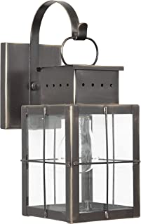 product image for Brass Traditions 431-P SHAC Small Wall Lantern 400 Series Profile Bracket, Antique Copper Finish 400 Series Profile Bracket Wall Lantern