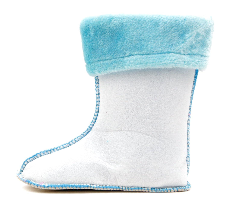 Luckers Girls Mid Calf Fleece Rain Boots Liners