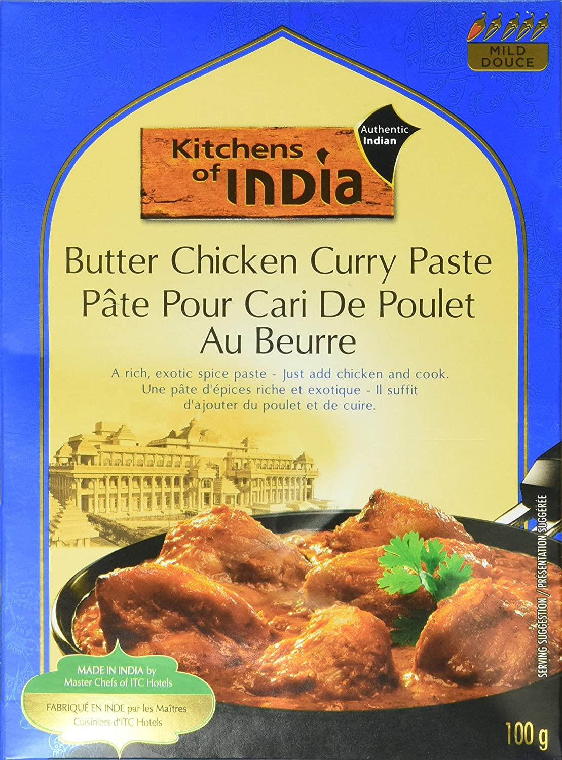 Kitchens of India Paste, Butter Chicken Curry, 3.5-Ounces, Pack of 1 (6 count)