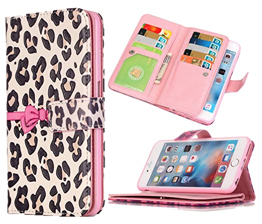 new arrivals 67f21 3c141 iPhone 5S Wallet Case,iPhone SE Wallet Case Hynice PU Leather Wallet Purse  With Stand Feature Card Slot ID Card Wallet For Women Men fit iPhone ...