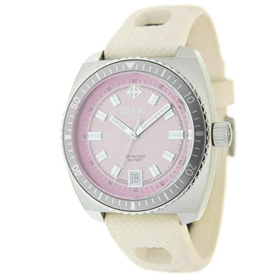 Zodiac Reloj 14844 42 mm Rosa Claro