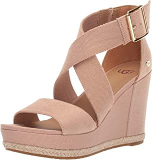 fb4d5543f9e Amazon.com | UGG Australia Women's Whitney Wedge Sandal | Platforms ...
