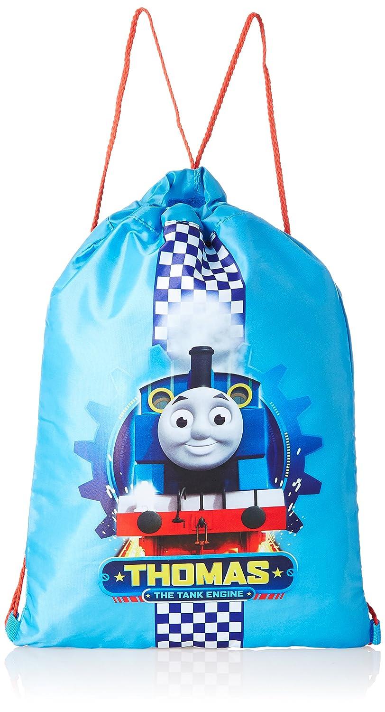 Thomas the Tank Engine Trainer Bag Drawstring Bag, 43 cm, 1 Liters, Blue THOMAS003014