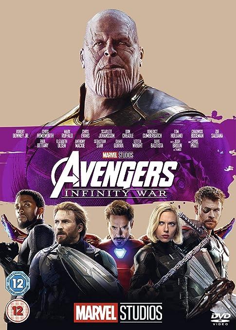Amazon com: Avengers Infinity War [DVD] [2018]: Movies & TV