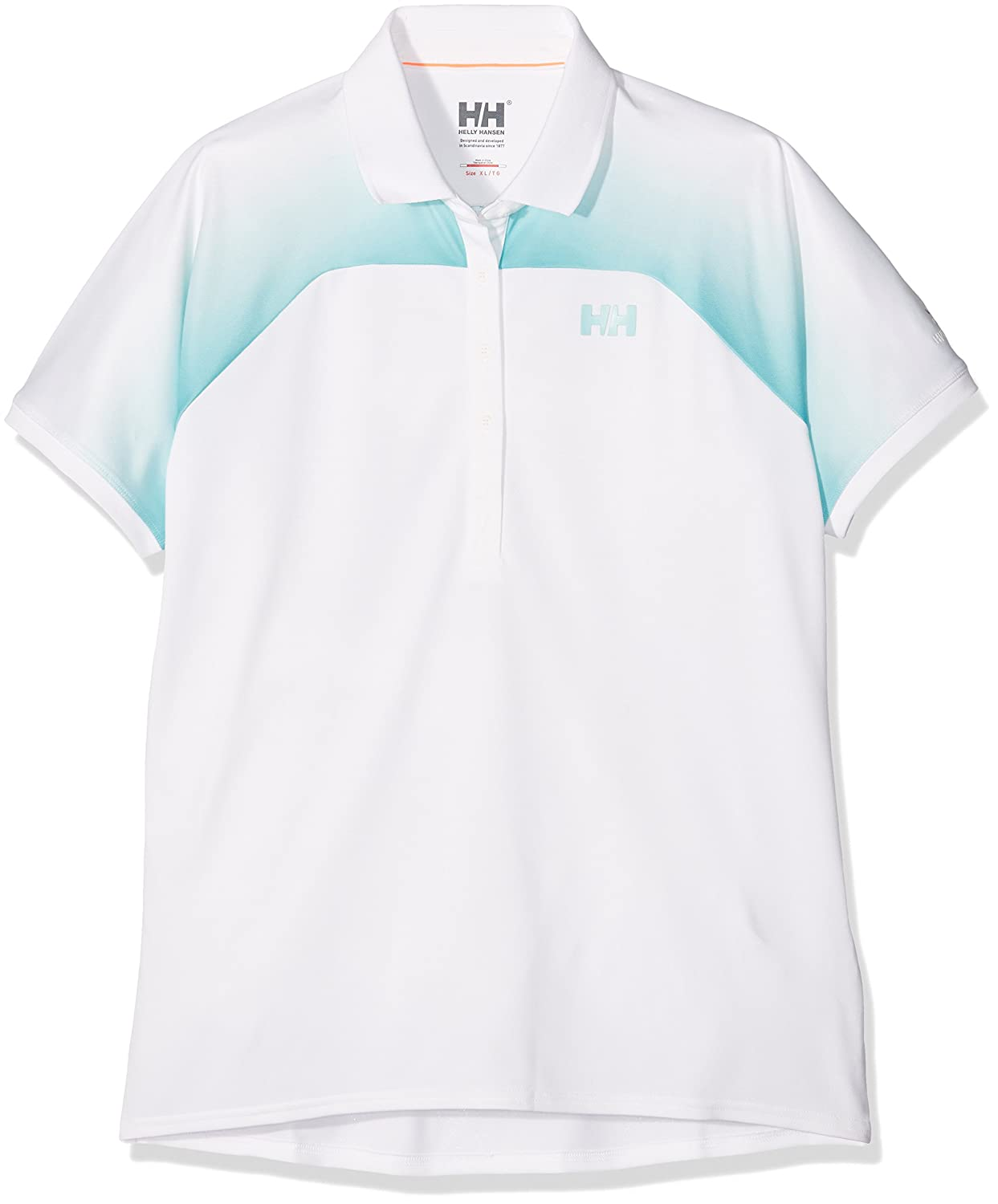 Helly Hansen HP - Polo para Mujer, Color Blanco, Talla XL: Amazon ...