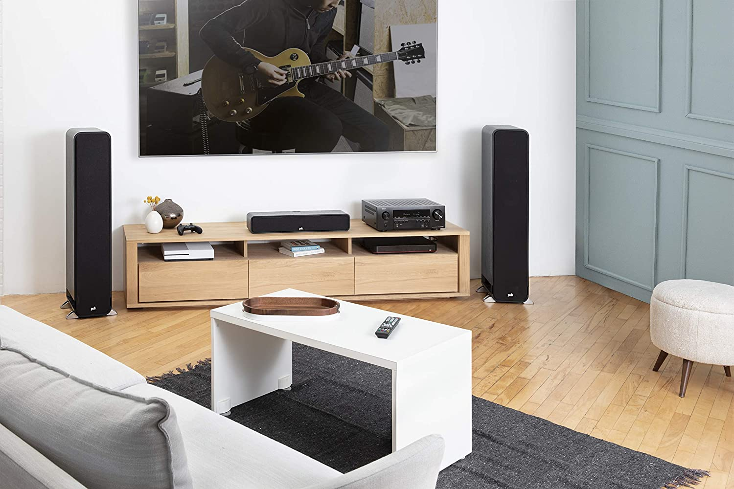 5.2 Channel 4K Ultra HD Home Theater Surround Sound and Music Streaming System Denon AVR-S640H Audio Video Receiver Airplay Alexa and HEOS Wireless Speaker Expansion Built In Bluetooth Wi-Fi