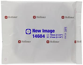 e891d2e463 Amazon.com: Hollister New Image Flextend Flat Skin Barrier with Tape  Border, 5 Count: Beauty