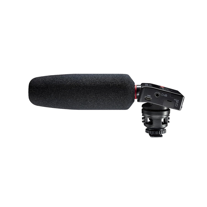 TASCAM ショットガンマイク搭載カメラ用リニアPCMレコーダー DR-10SGB01EO65QCM