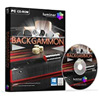 GNU Backgammon - The Classic Strategy Game for Microsoft Windows & Apple Mac OS X - BOXED AS SHOWN