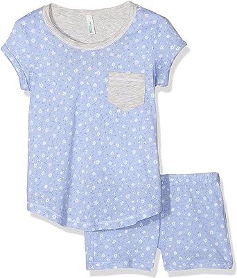 United Colors of Benetton Ditsy Flower Pijama, Azul (Blue ...