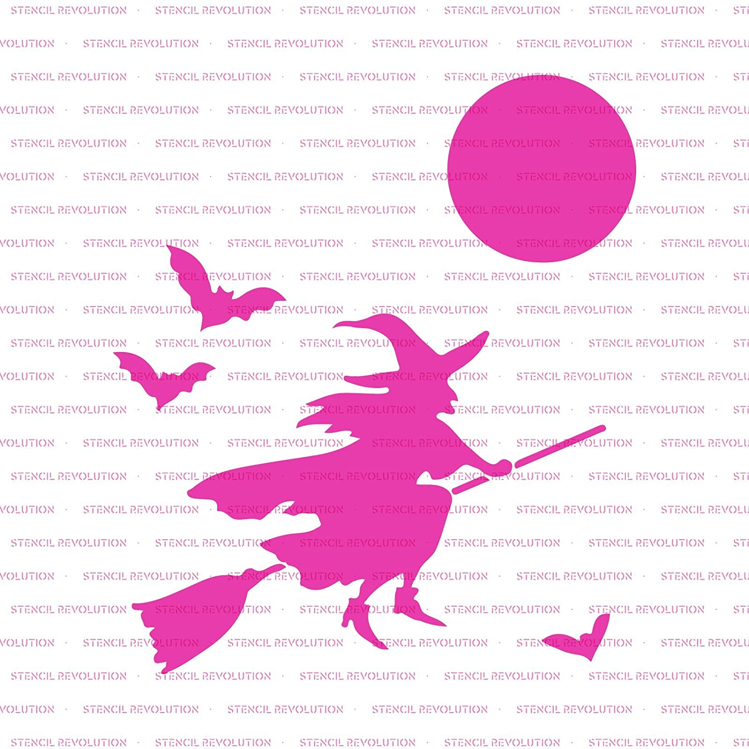 Amazon Witch Stencil Template Reusable Stencil with Multiple