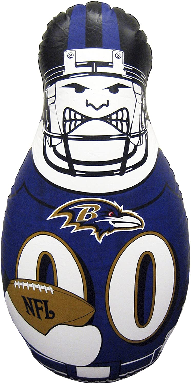 NFL Tackle Buddy Inflatable Punching Bags Team Colors