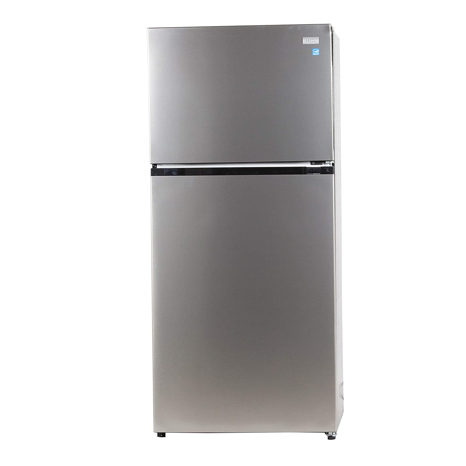 Equator-Ascoli 18 cu.ft. Top Freezer Apartment Refrigerator Stainless with additional Ice Maker kit