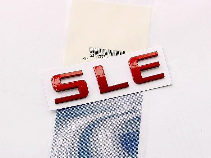Yoaoo 2x OEM Black LTZ Letter Nameplate Emblems Badge 2008-2015 Cruze Silverado Yukon Sierra Shiny
