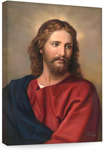 Big A Solutions Jesus Wall Decor, Replica of Oil Painting by Heinrich Hoffman. Jesus Wall Art in Different Sizes, Jesus Canvas, Jesus Posters. 20X30