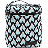 Ju-Ju-Be Onyx Collection Fuel Cell Insulated Bottle and Lunch Bag, Black Diamond