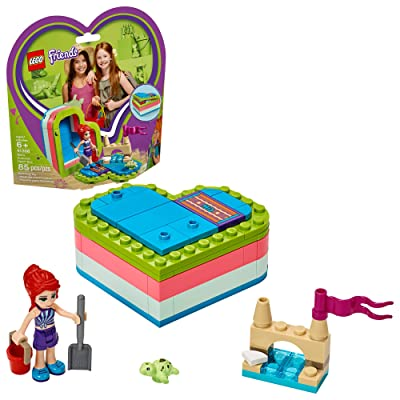 LEGO Friends Mia's Summer Heart Box 41388 Building Kit (85 Pieces): Toys & Games