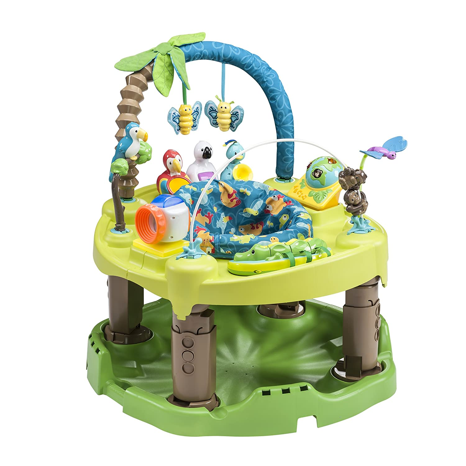 Evenflo Exersaucer Triple Fun Active Learning Center, Life - Exersaucer for Baby