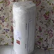 Alkove - Colchón de espuma viscoelástica con 7 zonas y funda extraíble Sanitized®, 140 x 190 x 23 cm
