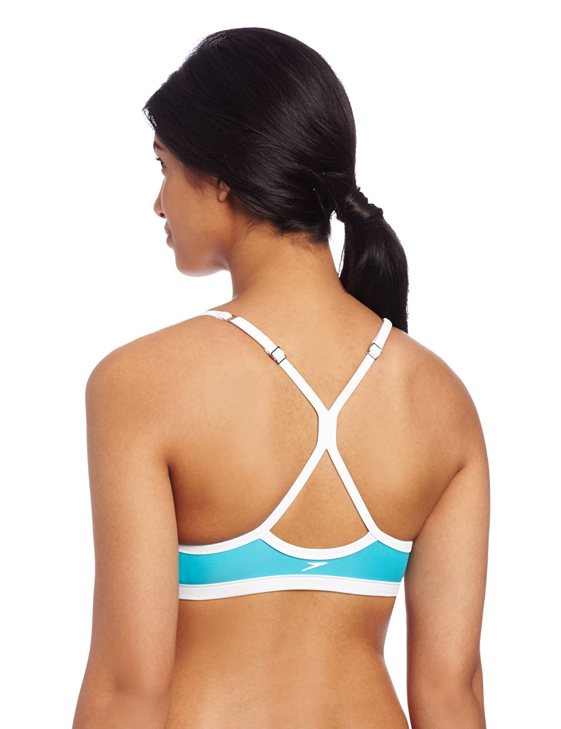 Amazon.com: Speedo Womens Active Keyhole Swimsuit Top: Sports & Outdoors