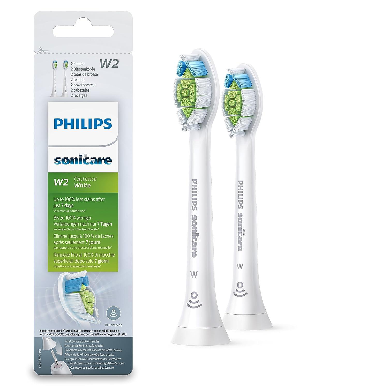 Philips Sonicare HX6062/12 cepillo de cabello 2 pieza(s) Blanco - Cabezal (2 pieza(s), Blanco): Amazon.es: Salud y cuidado personal