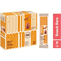 GOODTO GO Cinnamon Pecan Soft Baked Bars, Net Weight/Bar 1.41 oz. Caddies. Each caddy carries 9 snack bars; this Delicious Snacks Contain Organic Ingredients, Keto Certified, Non-GMO Project Verified, Gluten Free Ingredients, Peanut Free, Vegan, Kosher
