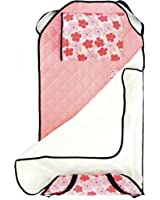 Urban Infant Tot Cot All-In-One Preschool / Daycare Toddler Nap Mat - Poppies