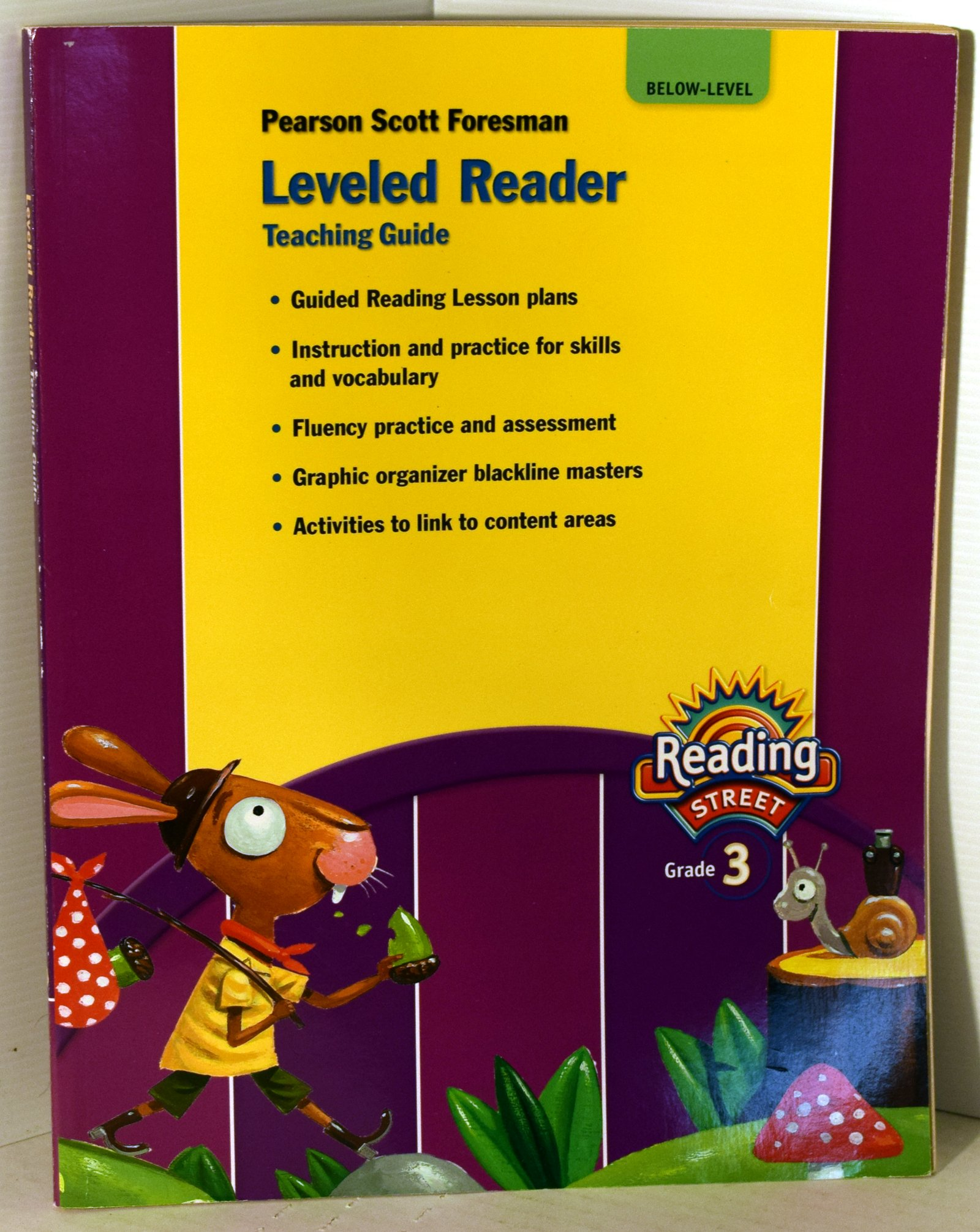 Leveled Reader Teaching Guide Below-Level - Reading Street (Grade 3): Many  Contributors: 9780328484485: Amazon.com: Books