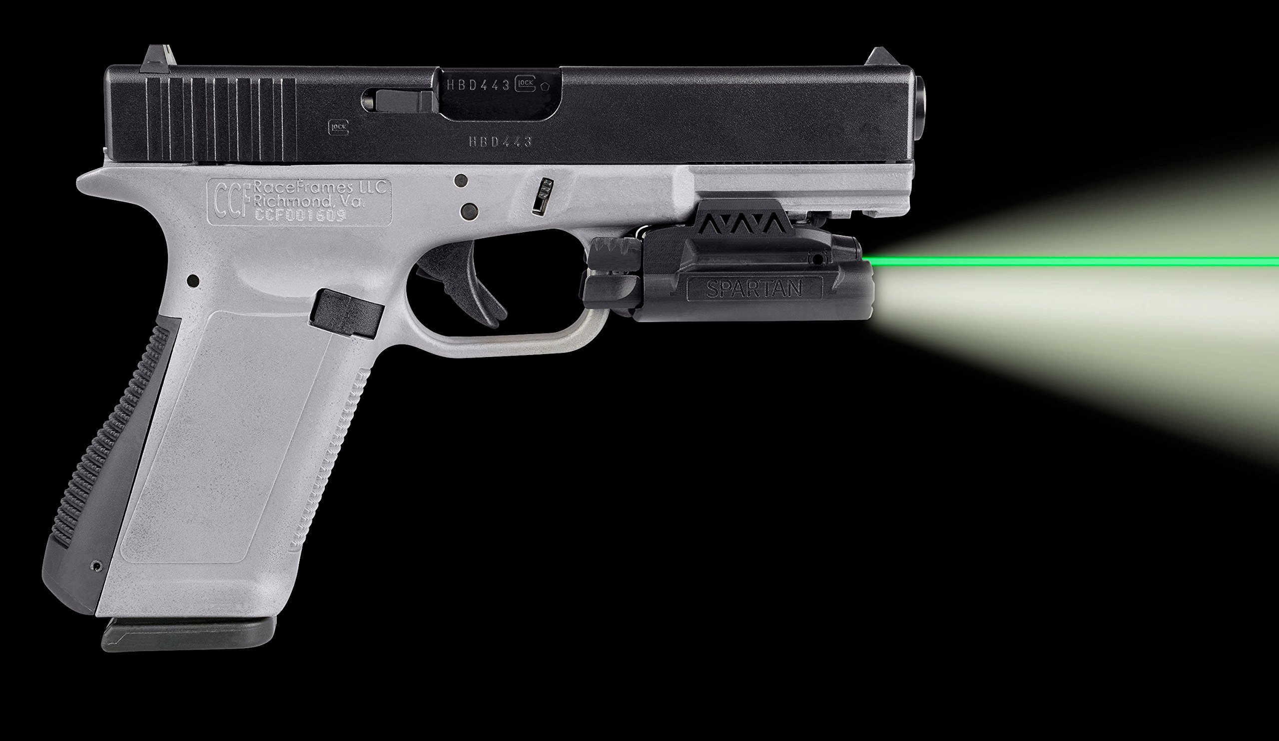 LaserMax Rail Mounted Light/Laser (Green) Requires at least 1 3/4 of rail space by LaserMax (Image #5)