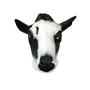 Cow Mask   Funny Animal Masks   Off The Wall Toys