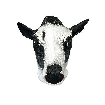 Máscara de vaca – Funny Animal Máscaras – apagado la pared Toys