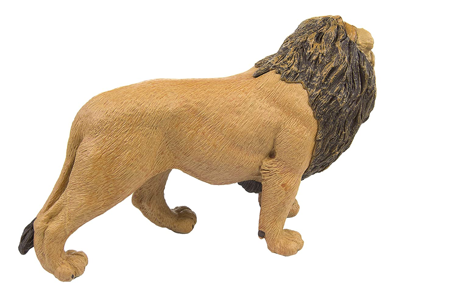Safari Ltd Wildlife Wonders  Lion  Realistic Hand Painted Toy Figurine Model  Quality Construction from Safe and BPA Free Materials  For Ages 3 and Up  Large 111289
