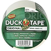 Duck Tape 260123 Originele Wit, Verbeterde Formule Hoge Sterkte Waterdichte Gaffer en Duct Kleefdoek Reparatie Tape 50mm…