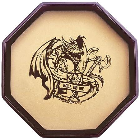 Fantasydice - ROLL OR DIE- Dice Tray - 11 5