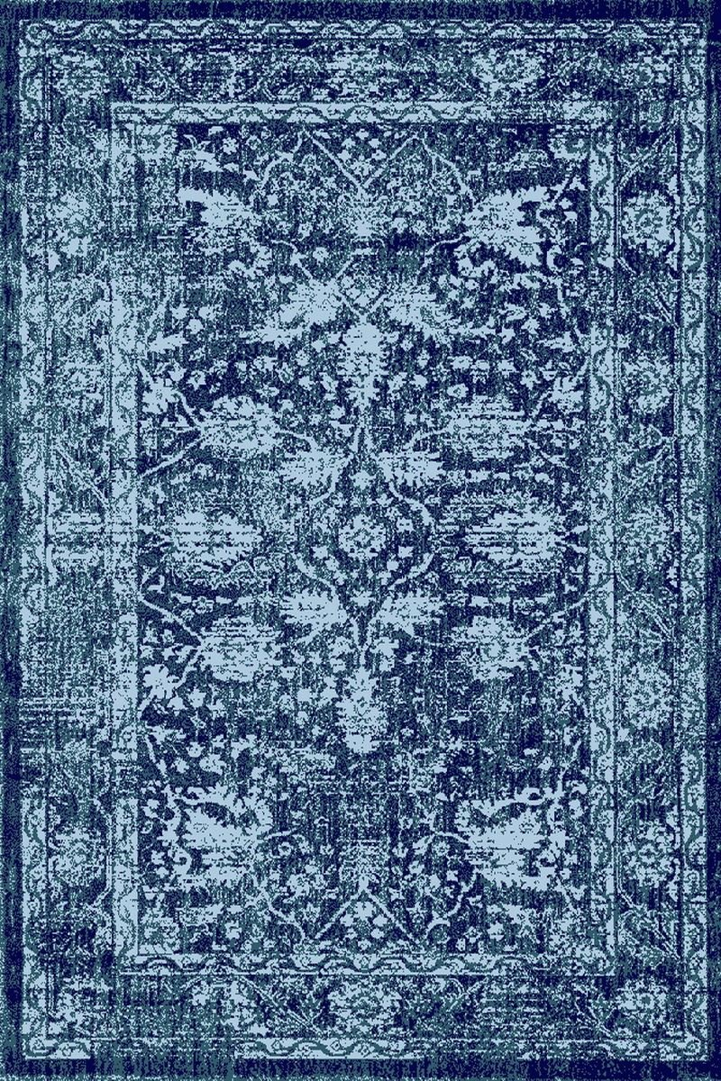 A2Z Rug Vintage Traditional Santorini 6076 Collection Black 120x170 cm 4x6 ft Area Rugs
