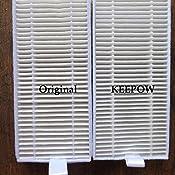 KEEPOW 5 Recambios de Paños Lavables para Aspiradora Cecotec Conga Excellence 990 Robot Aspiradora y Aspiradora ILIFE V3 V3s V5 V5s V5spro