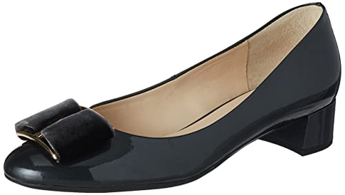 Womens 4-10 3085 6600 Closed Toe Heels, Grau (Darkgrey) Högl