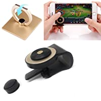 Silver SANNYSIS Game Joystick Joypad Stick for iPhone for Ipad Touch Screen Smart Mobile Phone