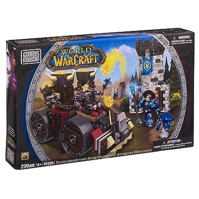 Mega Bloks World of Warcraft Demolisher Attack: Toys & Games