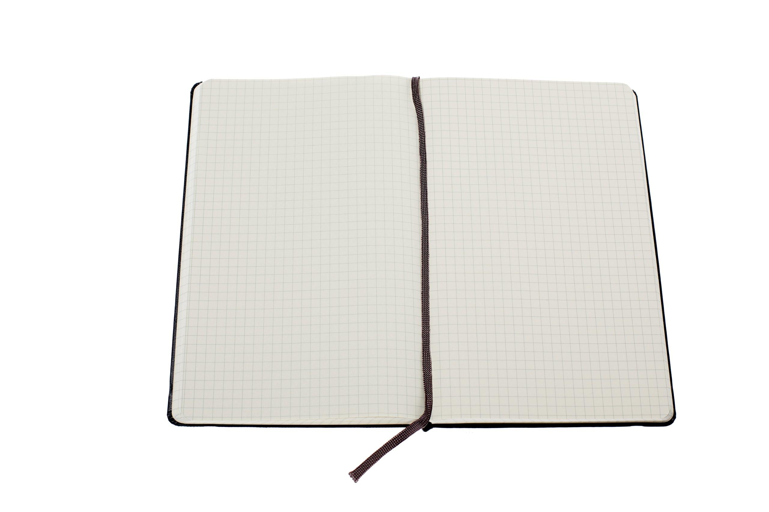 amazoncom moleskine classic notebook large squared black hard cover 5 x 825 classic notebooks 5055941933905 moleskine books